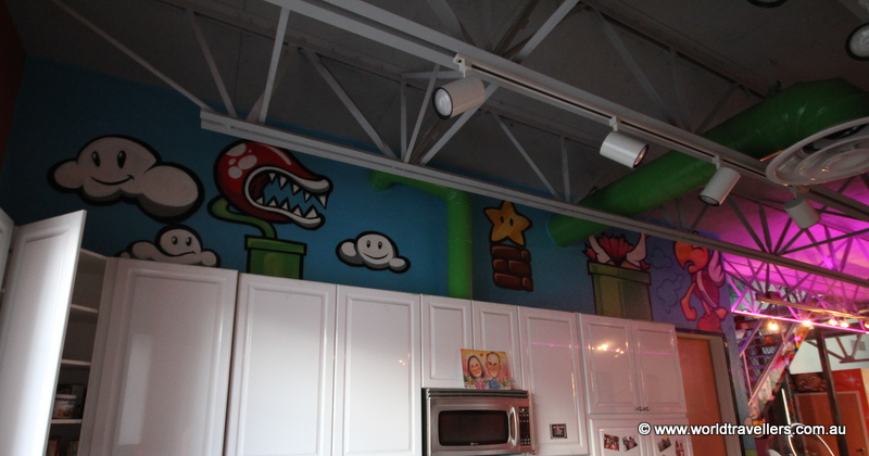 Super Mario kitchen