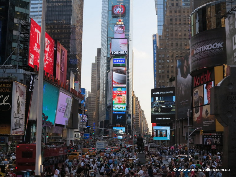 time square day