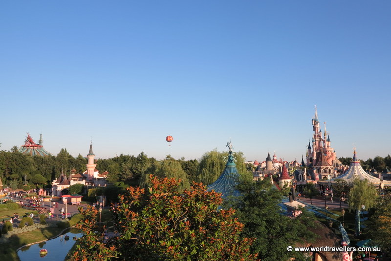 View of Disneyland Paris